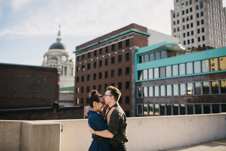 the colagrossis, engagement session, urban engagement session, fort wayne wedding photographer, chicago wedding photographer, midwest wedding photographer
