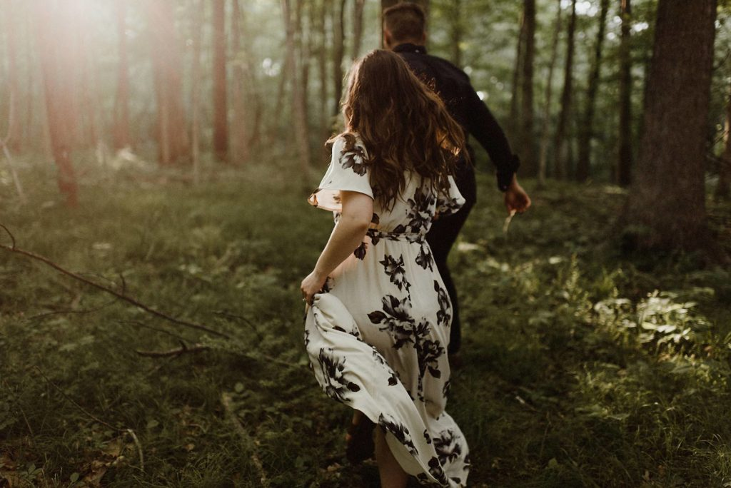 Tennessee Engagement session Blue Ridge Mountains Elopement The Colagrossis