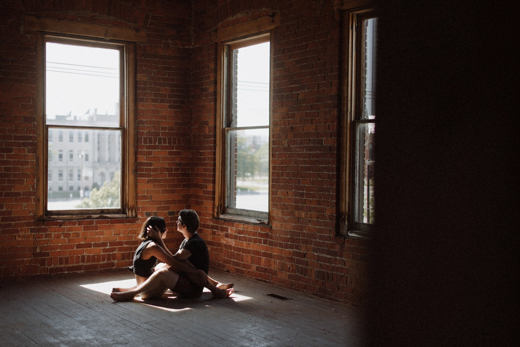 moody love session, hip couples session, art, love, the colagrossis